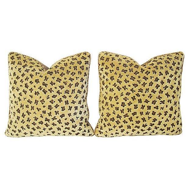 Rogers & Goffigon Gattopardo Pillows - A Pair - Image 2 of 8