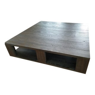 Restoration Hardware Hayes Square Coffee Table