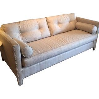 Contemporary Linen Sofa