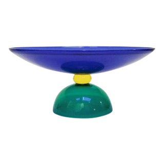 1986 Postmodern Memphis Style Fruitbowl