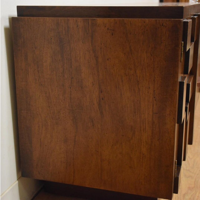 Lane Brutalist Console Credenza - Image 9 of 10