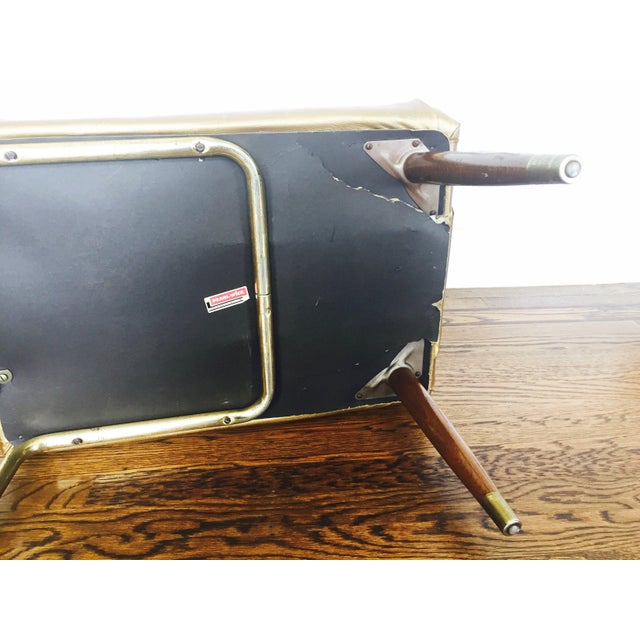 Vintage Gold Telephone Bench - Image 6 of 7