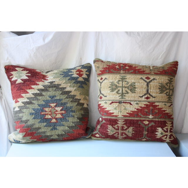 Kilm Pillows - A Pair - Image 2 of 5