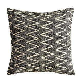 Natural & Black Printed Pillow