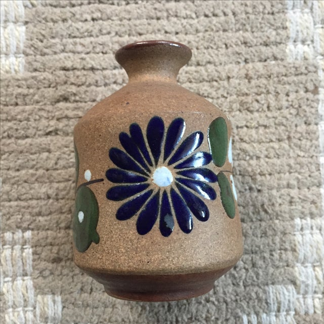 Mexican Hand-Painted Bud Vase - Image 2 of 9