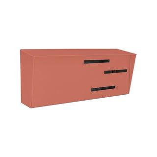 Modern Mailbox - Monochromatic Coral