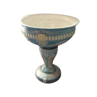 Antique French Faience Jardiniere Choisy Le Roi