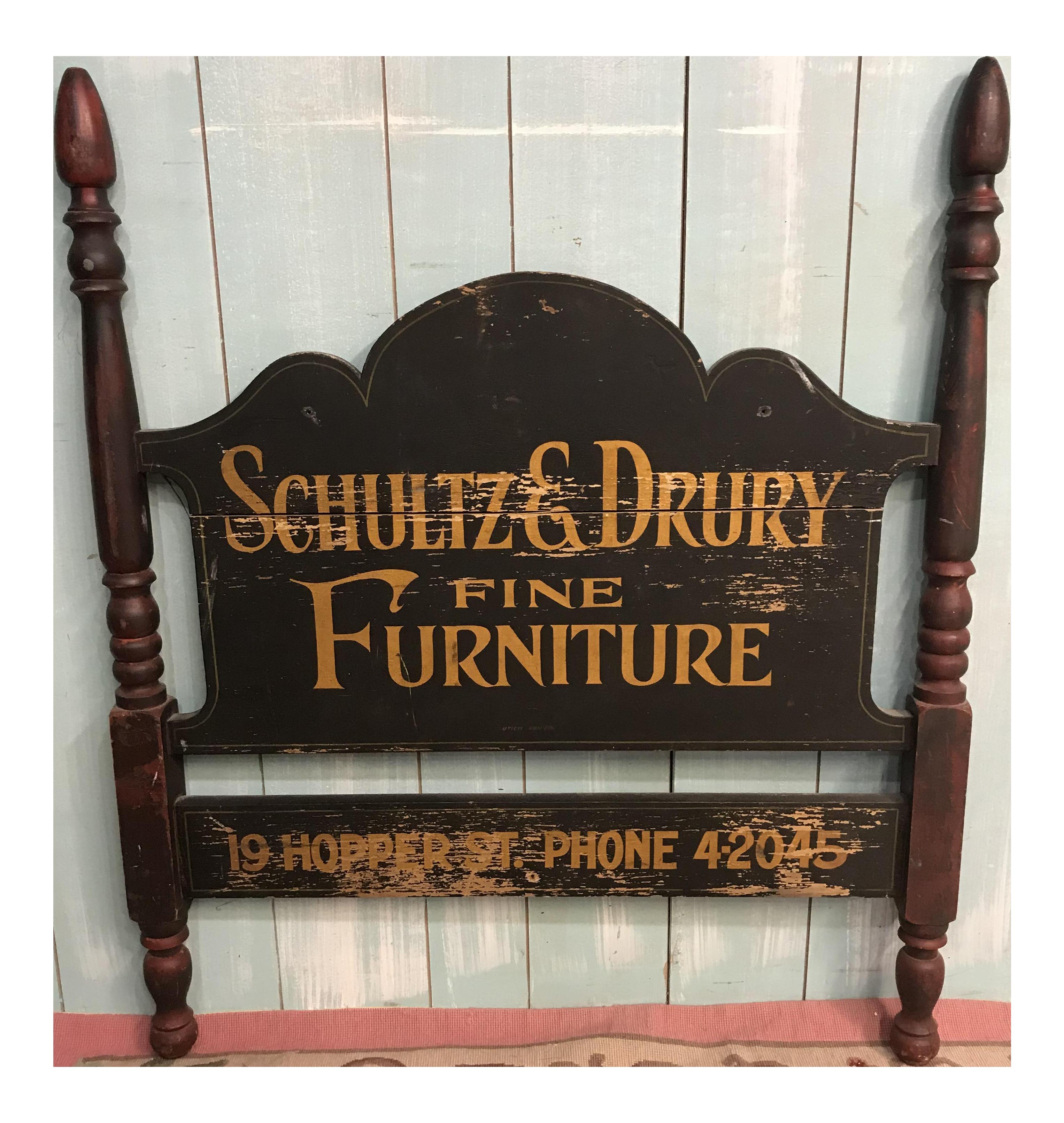 Antique Furniture Maker Sign