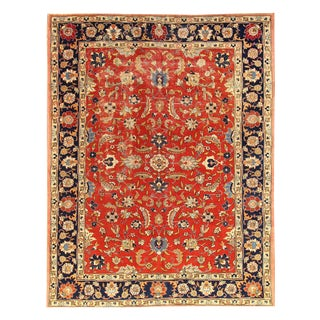 "Apadana Antique Persian Tabriz Rug - 7'7"" x 9'8"""
