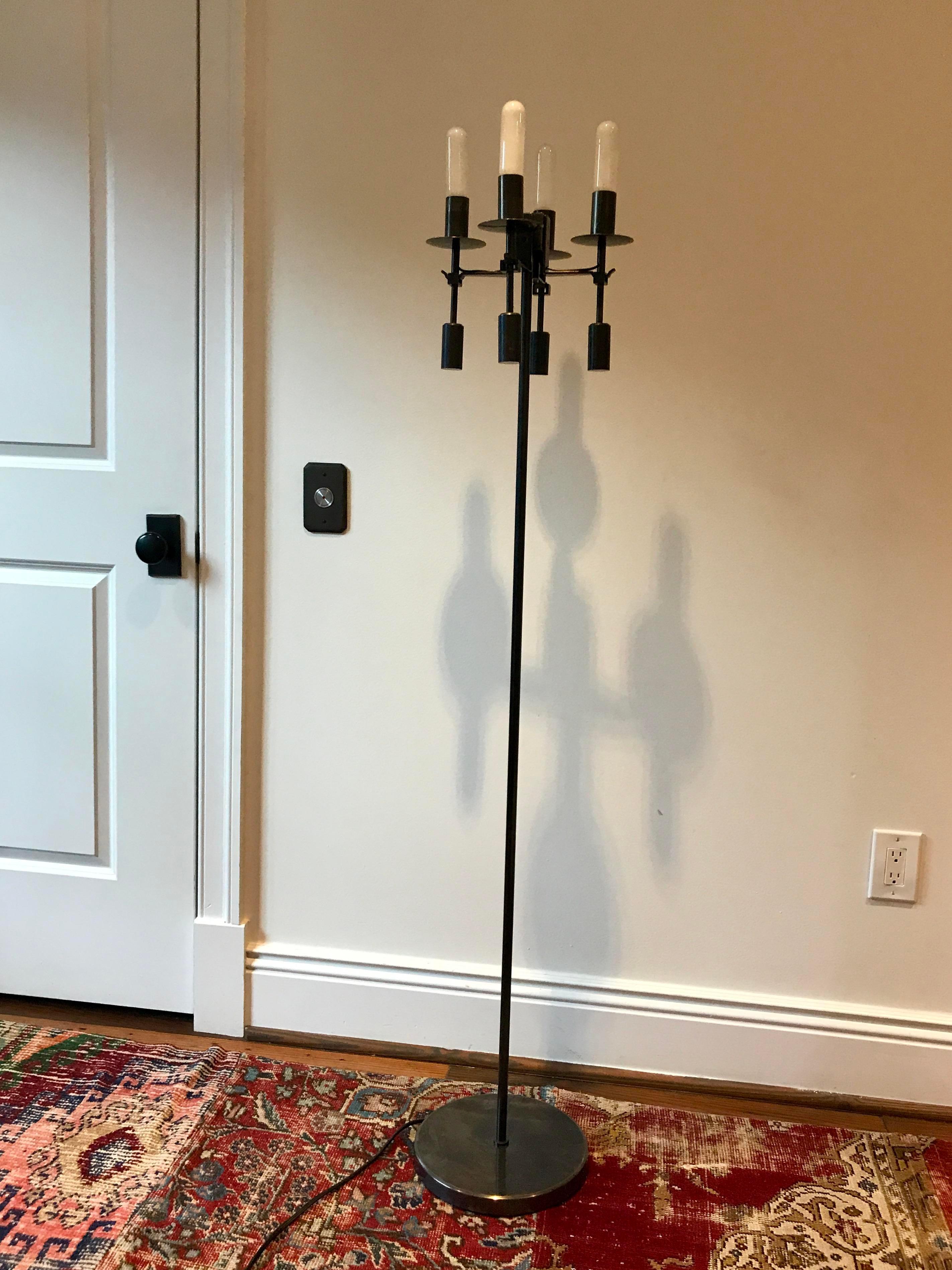 Restoration Hardware Bronze Fontanelle Floor Lamp   Image 2 Of 5