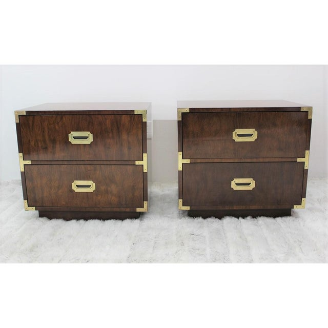 Mid Century Modern end tables/nightstands - a Pair - Image 2 of 11