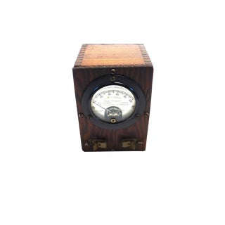 Vintage Weston Thermo-Galvanometer. Circa Early 20th Century. Display As Sculpture.