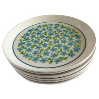 Mid-Century Mikasa Dinner Plates - Set of 7