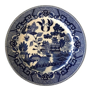 Blue Willow Transferware Plate