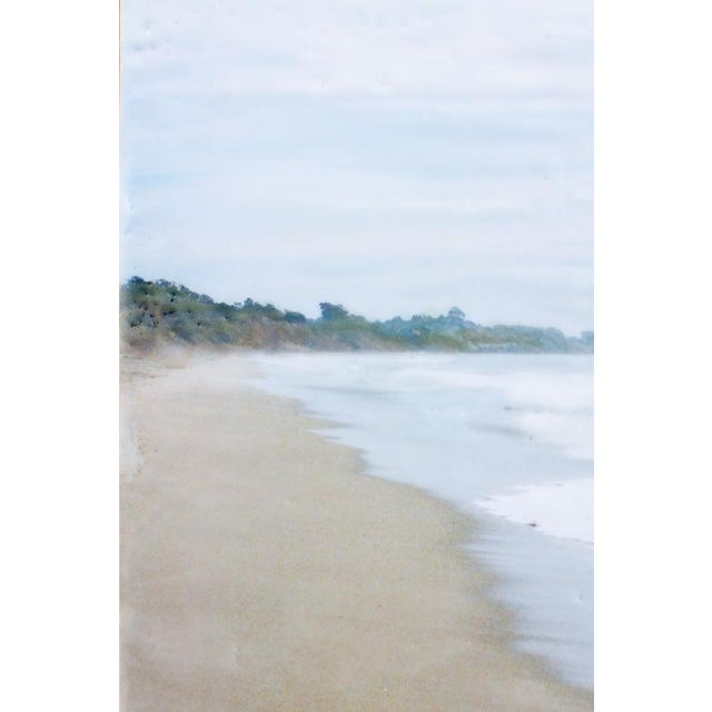 Morning on Hidden Beach - Photo Encaustic Painting - Image 3 of 4