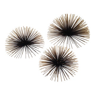 Large Sea Anemone Wall Sculptures - Set of 3