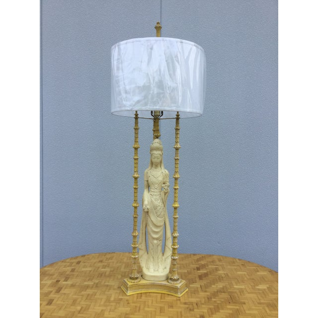 1940's James Mont Style Geisha Table Lamp - Image 2 of 11