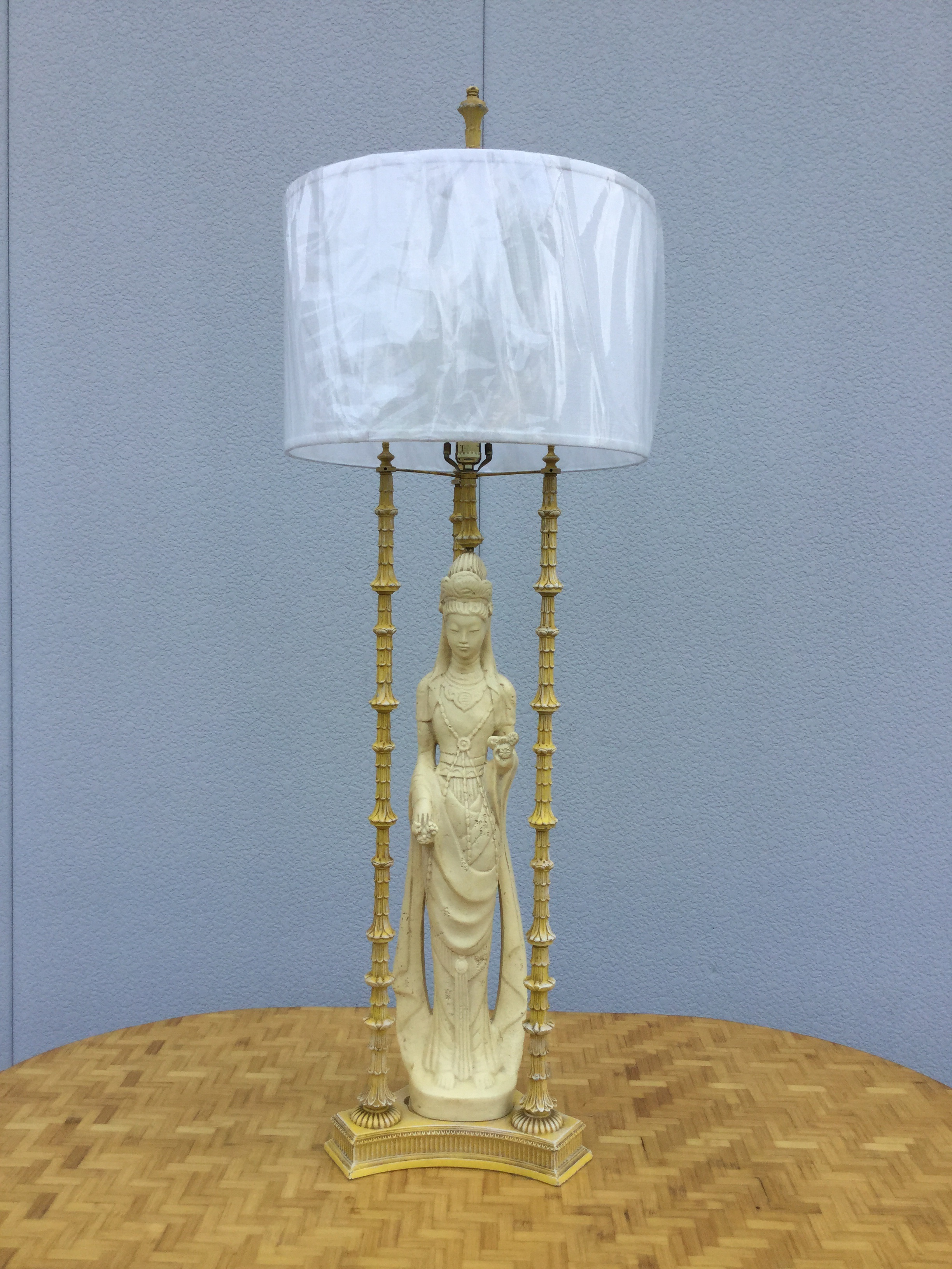 1940 hair styles 1940 s mont style geisha table lamp chairish 4427