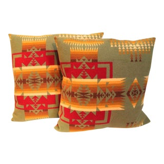 Pair of Pendleton Camp Blanket Pillows