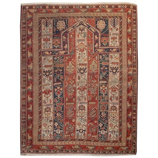 19th Century Caucasian Prayer Rug