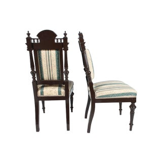 Baroque-Style Dining Chairs - Set of 4