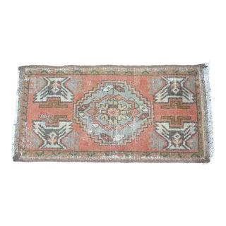 Turkish Oushak Decorative Rug - 1′6″ × 3′