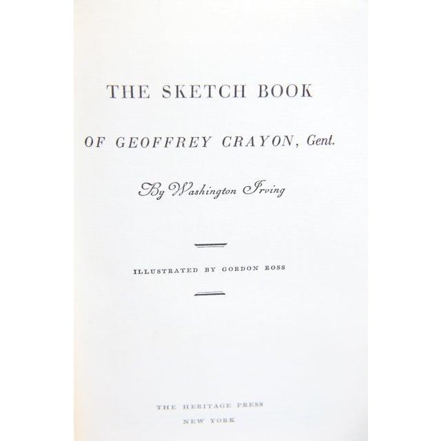 Sketch Book of Geoffrey Crayon - Image 3 of 5