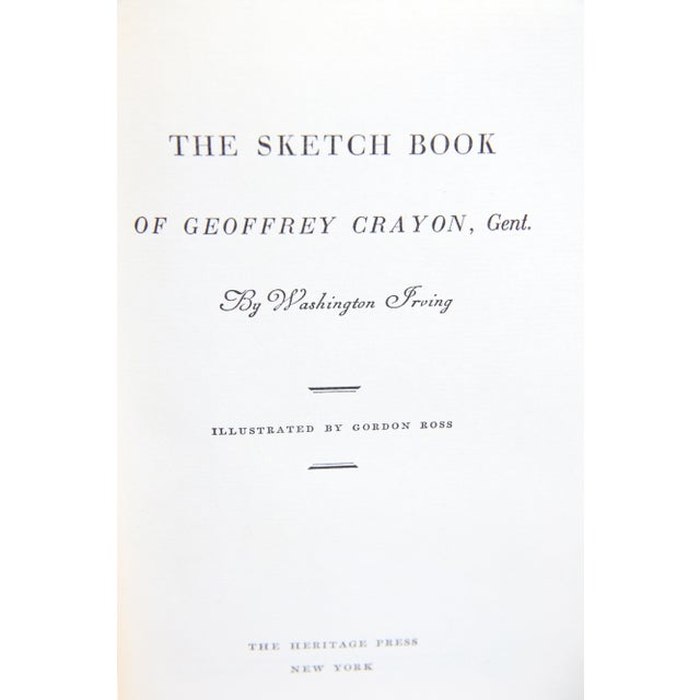 Image of Sketch Book of Geoffrey Crayon