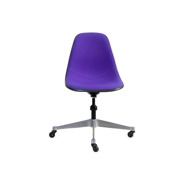 Purple Eames Rolling Chair - Image 2 of 7