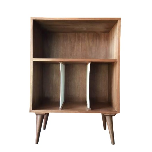 Mid Century Style Mini Credenza Record Stand - Image 1 of 6