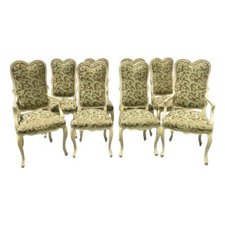 Karges Louis XV Style Dining Chairs - Set of 8