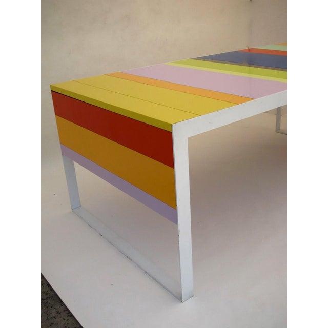 Memphis Modern Style Multi Color Table Desk - Image 6 of 6