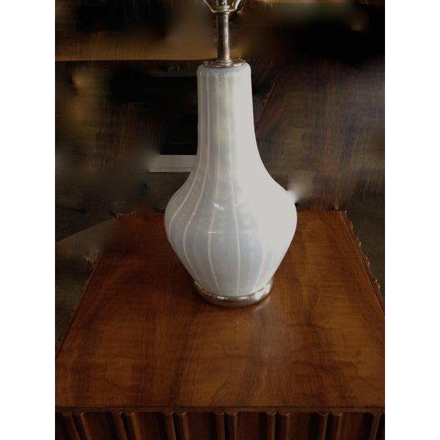 Image of Mid-Century Modern Swedish Case Glass Lamp