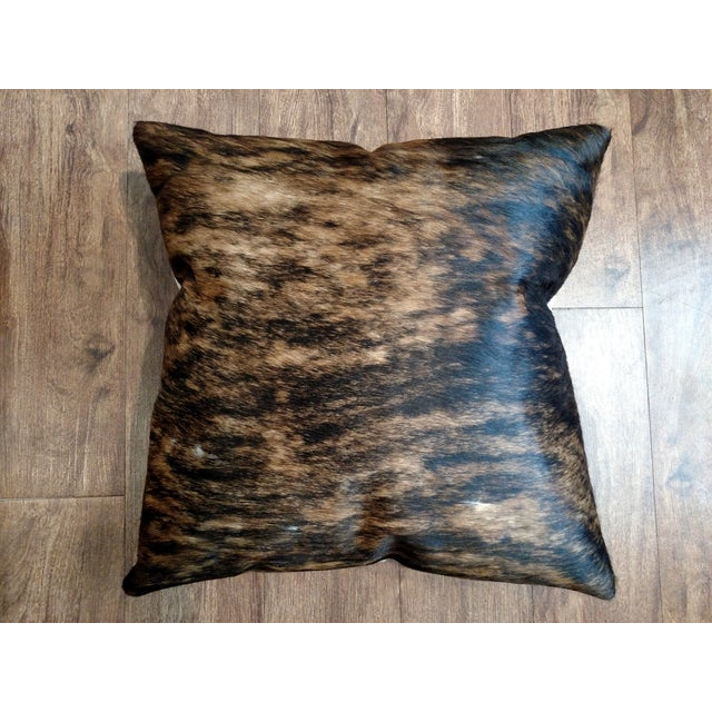 Gambrell Renard Classic Brindle Cowhide Pillow - Image 2 of 5