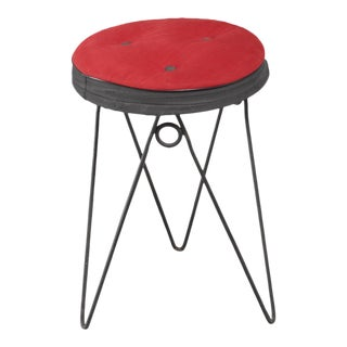 Jean Royere style Stool, France, 1950s