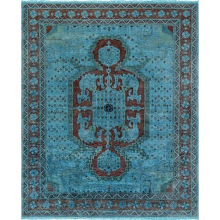 Pasargad Overdyed Lamb's Wool Area Rug - 8′3″ × 10′