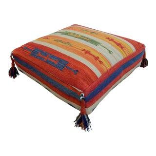 Turkish Hand Woven Cotton Floor Cushion