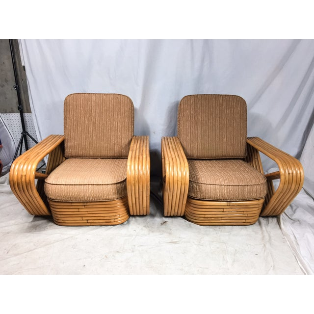 Paul Frankl for Kane Kraft Rattan Chairs - A Pair - Image 7 of 7