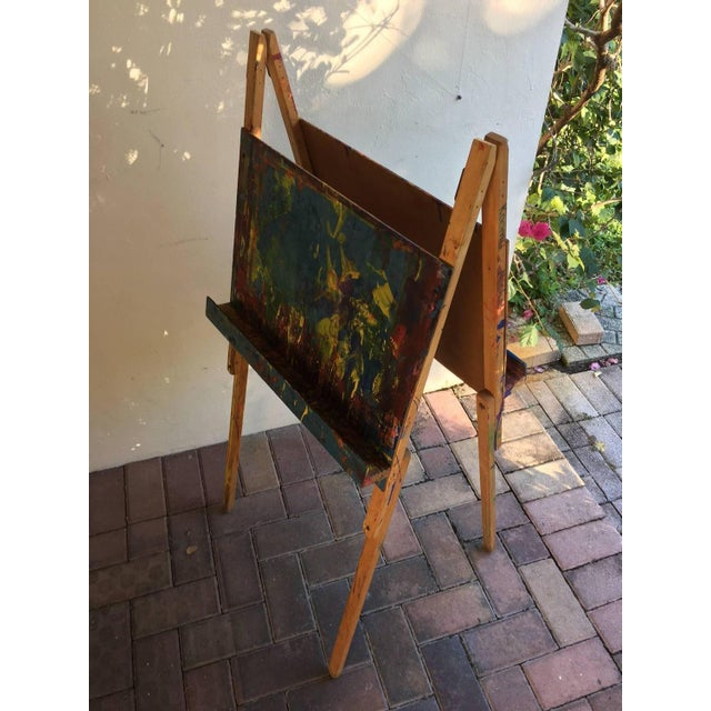Maine Elementary School Art Easel - Image 7 of 9