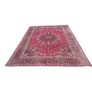 """Vintage Persian Oriental Rug - 12'9"""" x 9'7"""""""