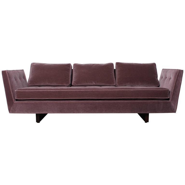 Split Arm Sofa By Edward Wormley For Dunbar   Image 1 Of 10