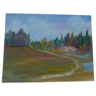 MCM Painting Autumn Path H.L. Musgrave