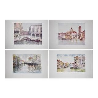 Mortimer Menpes Antique Lithographs of Venice - Set of 4