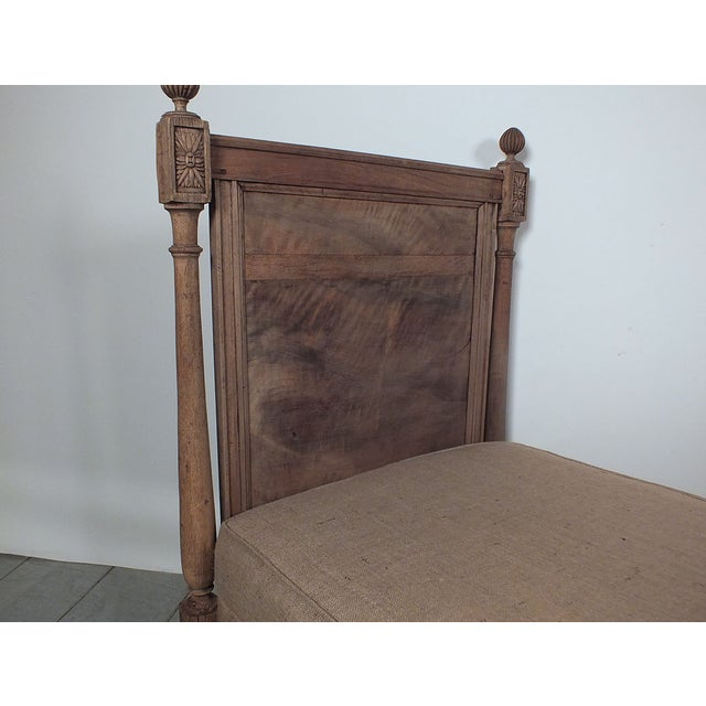 French 19th Century Louis XVI Daybed - Image 4 of 10