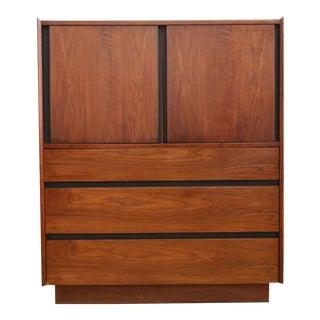 Mid Century Modern Tall Hignboy Dresser Chest Armoire