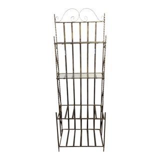 3-Tier Spiraled Metal Bookcase