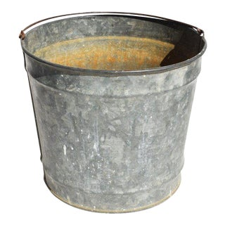 Galvanized Milking Bucket