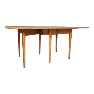 Conant Ball Maple Drop Leaf Dining Table