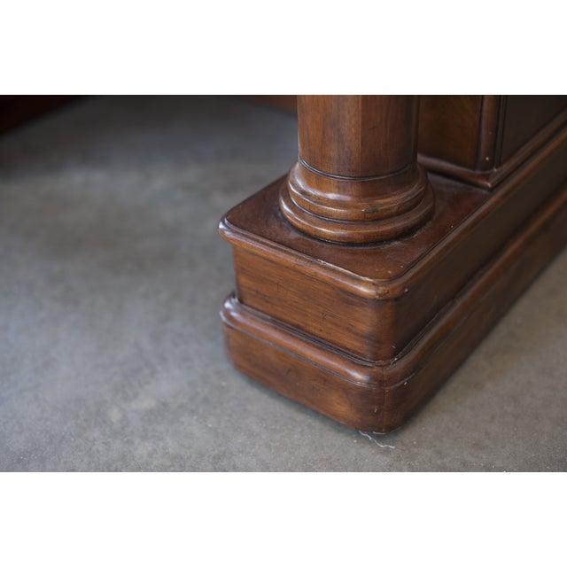 Sligh Maple Two-Piece Desk - Image 8 of 10