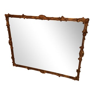 Vintage Gilt Wood Mirror Gold